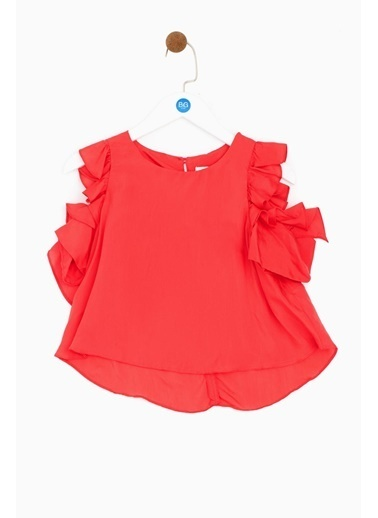 Lia Lea Lia Lea Kız Çocuk Kırmızı Bluz 19SSLL03410 Kırmızı
